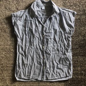 Short Sleeved Collared Button Down shirt